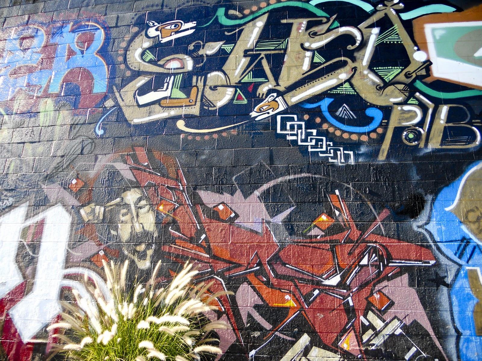 Tagging And Graffiti In Arcadia