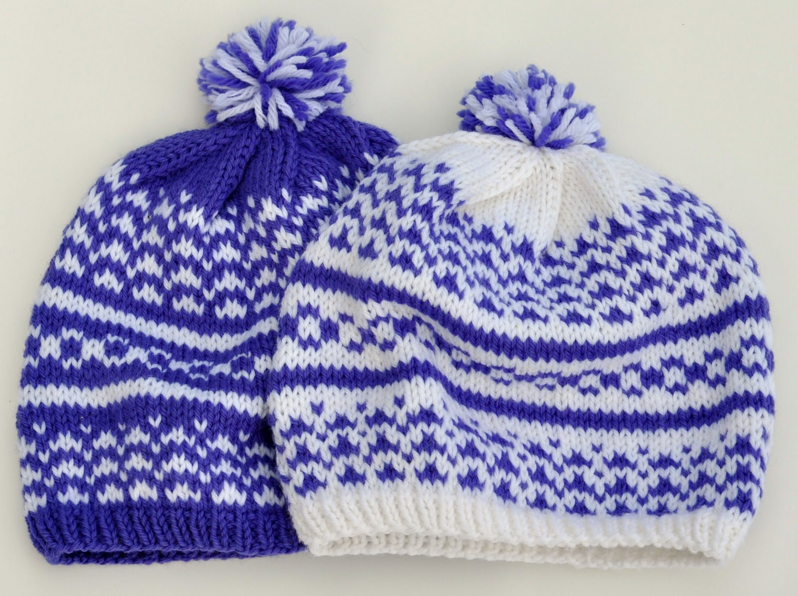 Free Fair Isle Knitting Patterns Hats : Knitting By The Ocean: Vermont Hat - A Fair Isle Adventure