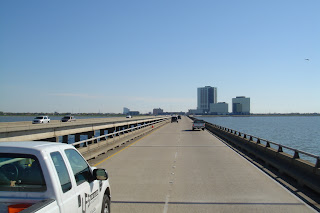 Longest Bridge in USA - Lake Pontchartrain Causeway