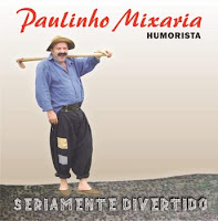 Paulinho+Mixaria CD Show de piadas   David Cunha