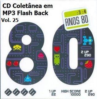anos+80 CD Coletânea em MP3 Flash Back Raridade Vol. 25