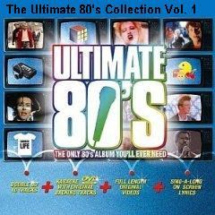 vol+1+de+ultimate CD The Ultimate 80s Collection Vol. 1