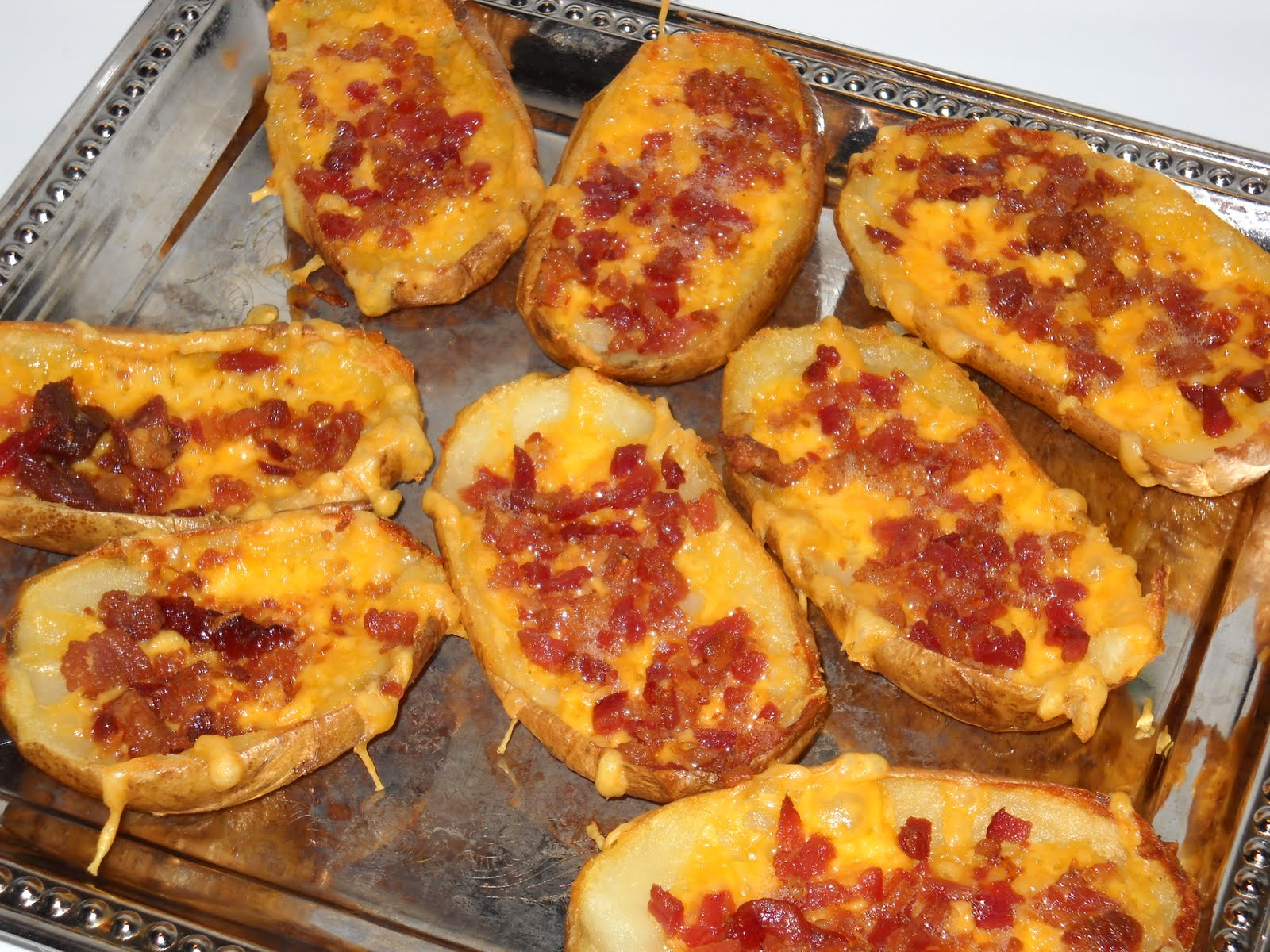 ... potato skins with bacon buffalo chicken potato skins potato skins eat