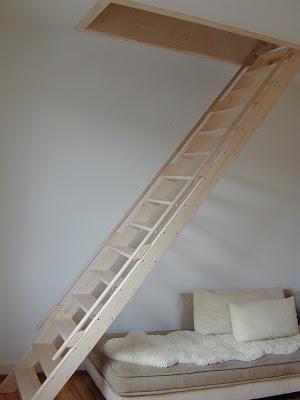 schreiner blog treppe zur mansarde. Black Bedroom Furniture Sets. Home Design Ideas