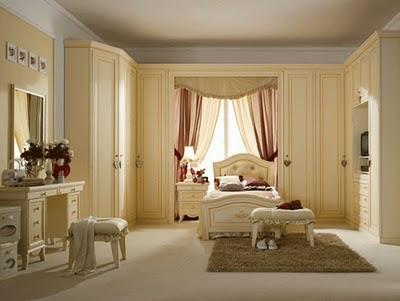 احدث افكار تصاميم غرف نوم اجنبية