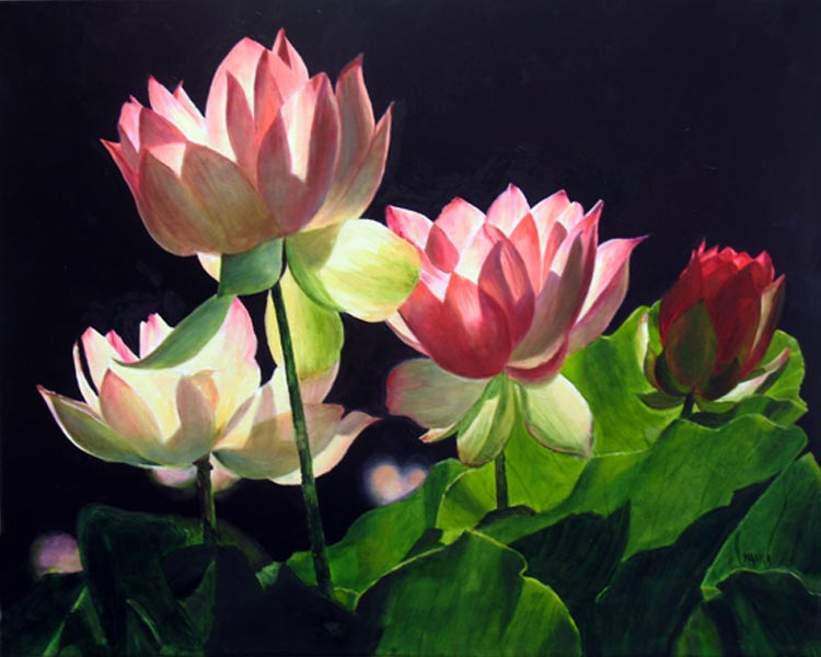 to paint a water lily essay An analysis of the use of sentence structure and type to portray the beauty of nature in the poem, to paint a water lily by ted hughes.