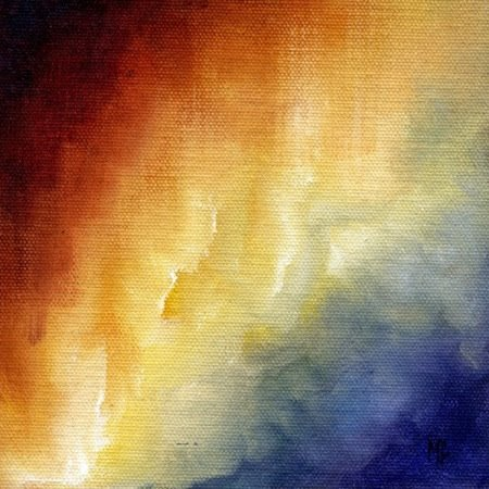 Best abstract oil paintings, Cosmic Light 1 by Marina Petro