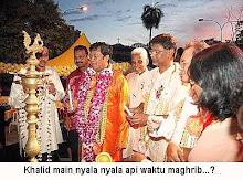 Apabila propaganda ajaran ugama Hindu menular ke jiwa Khalid Ibrahim MB Selangor!