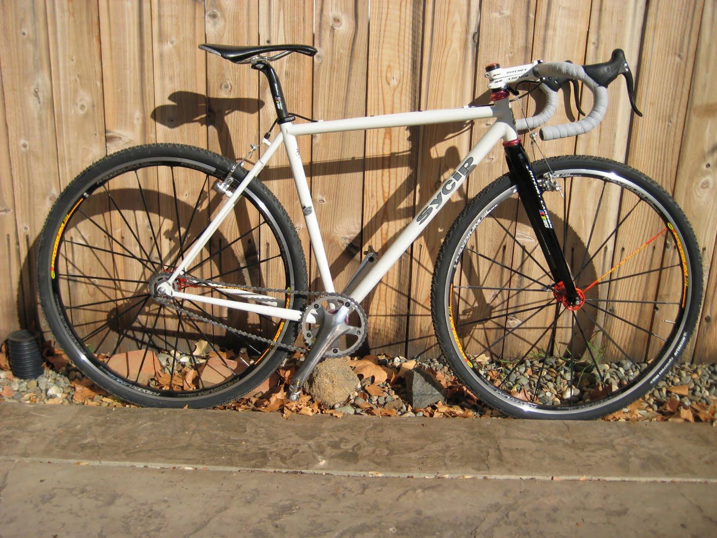 Plus One Lap Handmade Cyclocross Bike Gary S Sycip