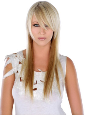 Stylish Long Hairstyles with Bangs