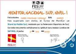 MONITORES NACIONALES DE SUP :: GRAN CANARIA