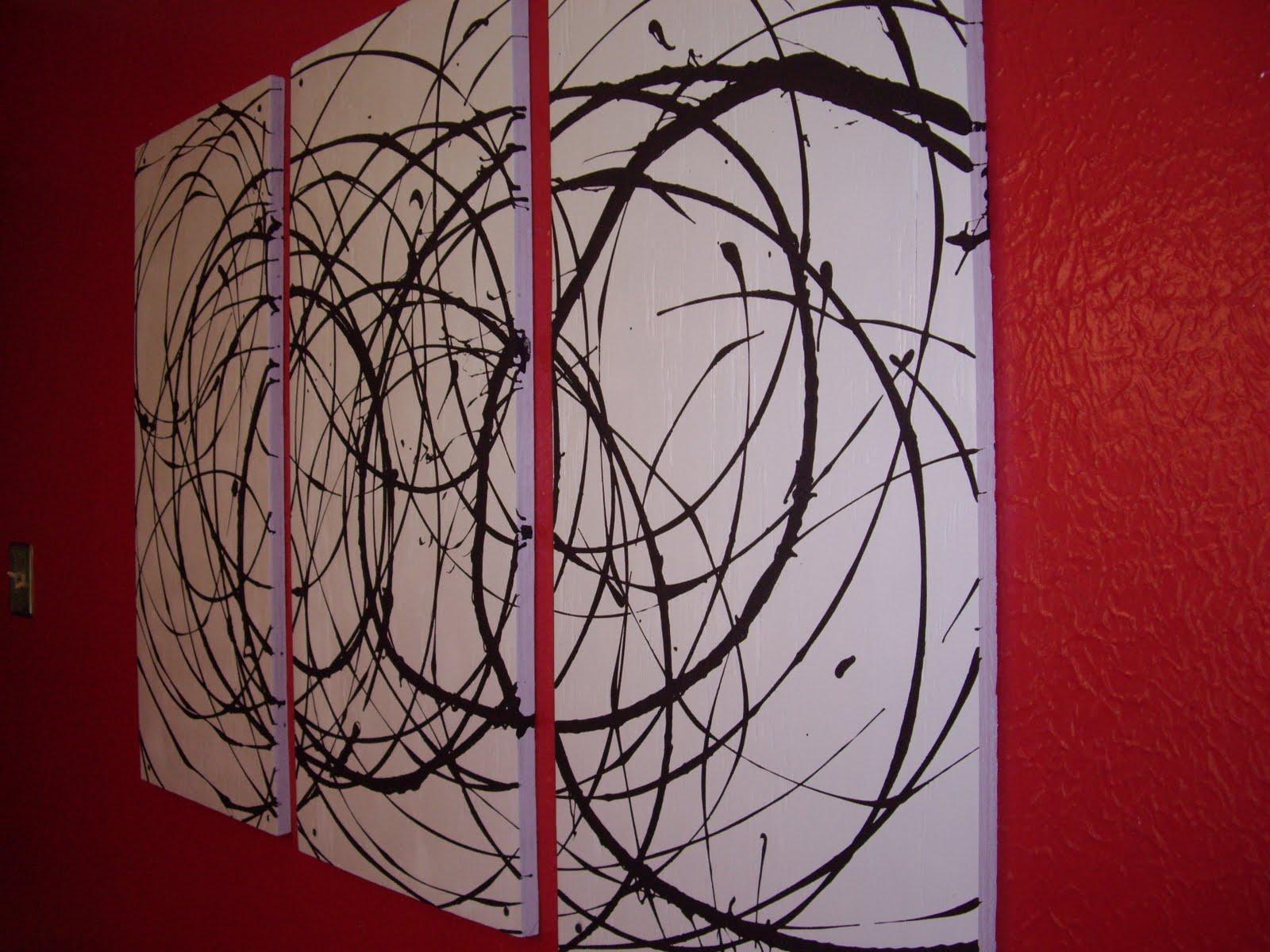 Easy DIY wall painting