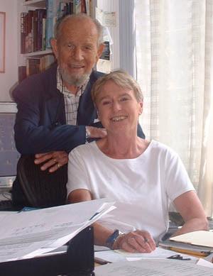 Susan Cooper und ihr Ehemann