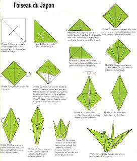 origami facile oiseau qui bat des ailes