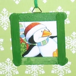 Lembrancinhas e enfeites de natal com palitos de picolé