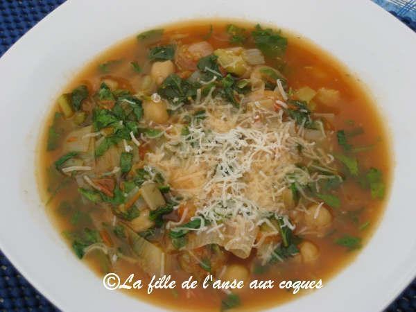 La fille de l 39 anse aux coques soupe espagnole - Peut on congeler de la soupe ...