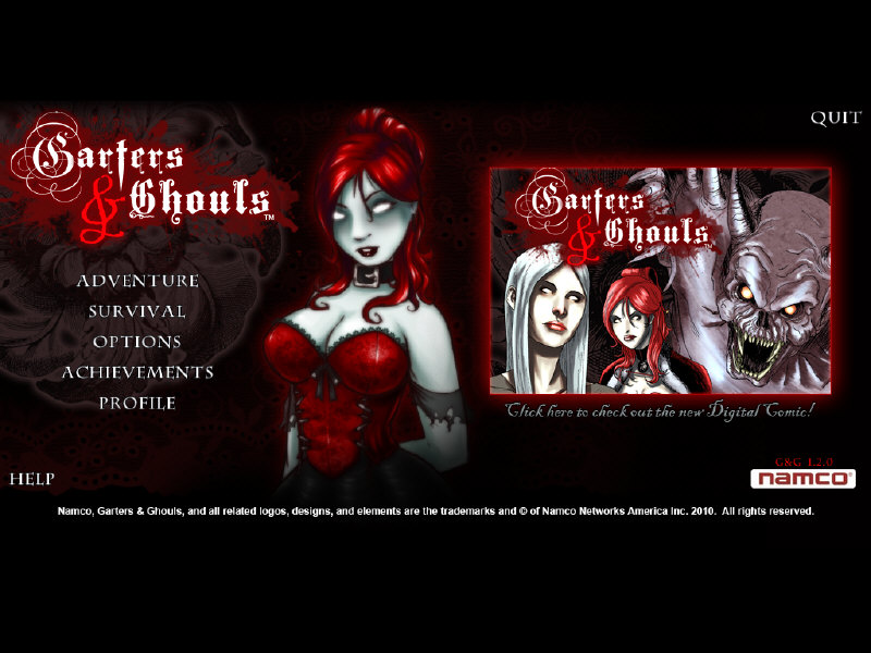Garters and Ghouls RIP (2011/PC/ENG)-Unleashed | 87.07 Mb