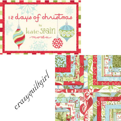 Moda 12 DAYS OF CHRISTMAS Fabric by Kate Spain