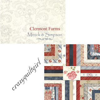 Moda CLERMONT FARMS Fabric by Minick & Simpson