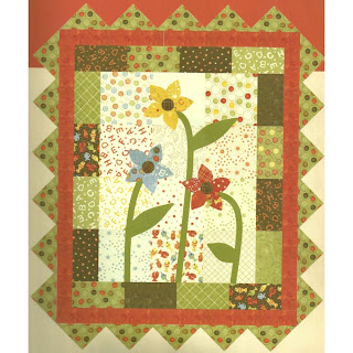 Moda LOLLIPOP Quilt Kit by Sandy Gervais