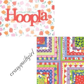Moda HOOPLA Fabric by Moda Fabrics