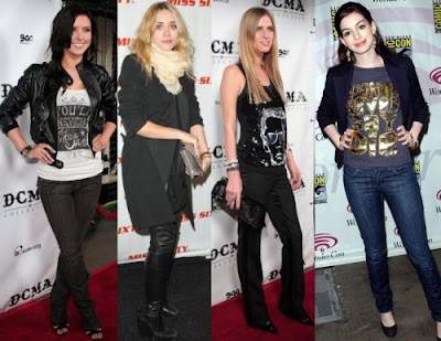 Fashion Girl Online Download on Look De Estrela De Rock    Dos Mais Cobi  Ados  Fica A Saber Do Que