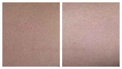essence return to paradise shimmer powder swatch