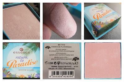 essence return to paradise shimmer powder