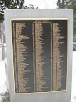 alpha listing of historic burials.