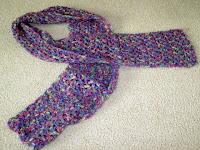 crocheted scarf for homeless