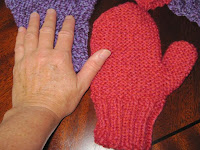 hand and mitten