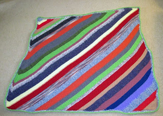 knitted afghan for homeless