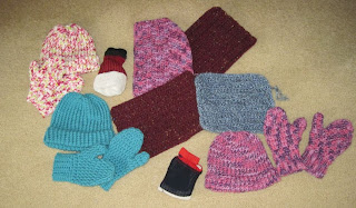crocheting and knitting for homeless