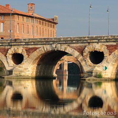 Pont Neuf et Hôtel-Dieu, Toulouse