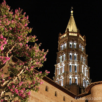 Toulouse by night - Saint Sernin