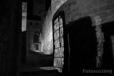 Carcassonne, la Cité by night