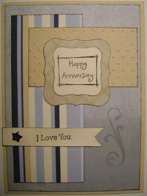 I made this card for my DH for our anniversary, and although I liked it,