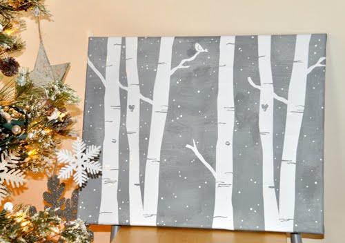 Holly Brooke Jones: DIY Winter Home Decor