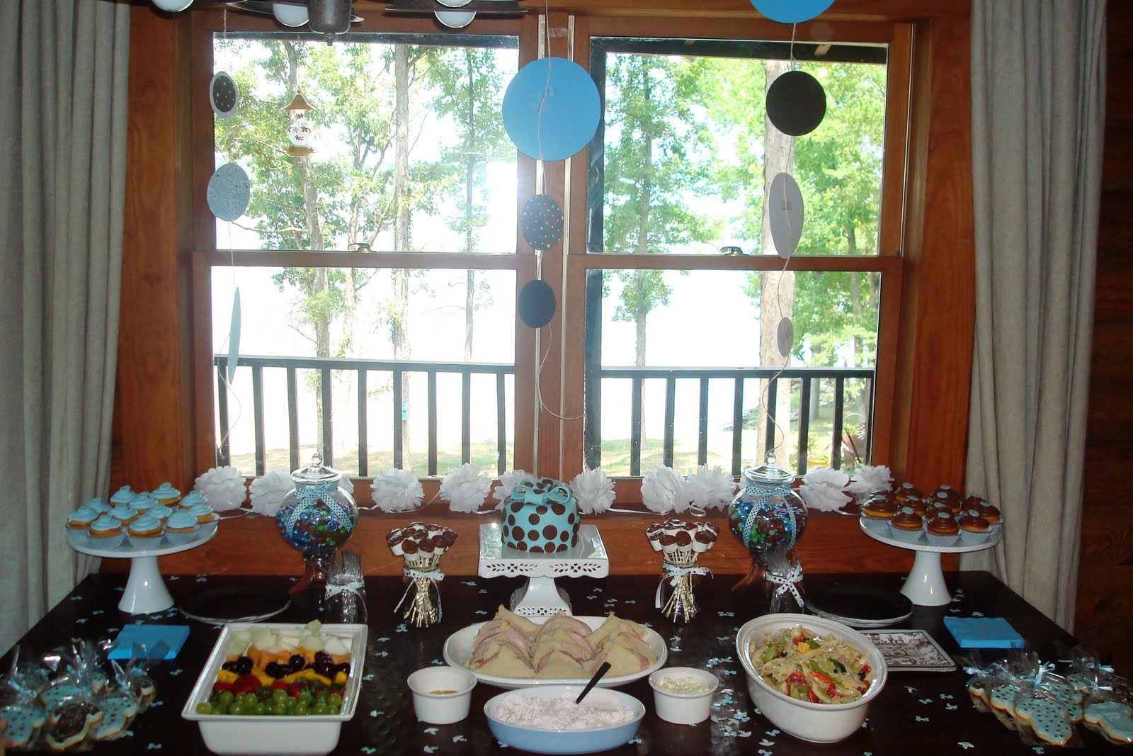 Cake Decorating Classes Near Charlotte Nc : Cakes By Diana in Charlotte NC,: blue and brown dessert table