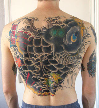 japan koi fish tattoo