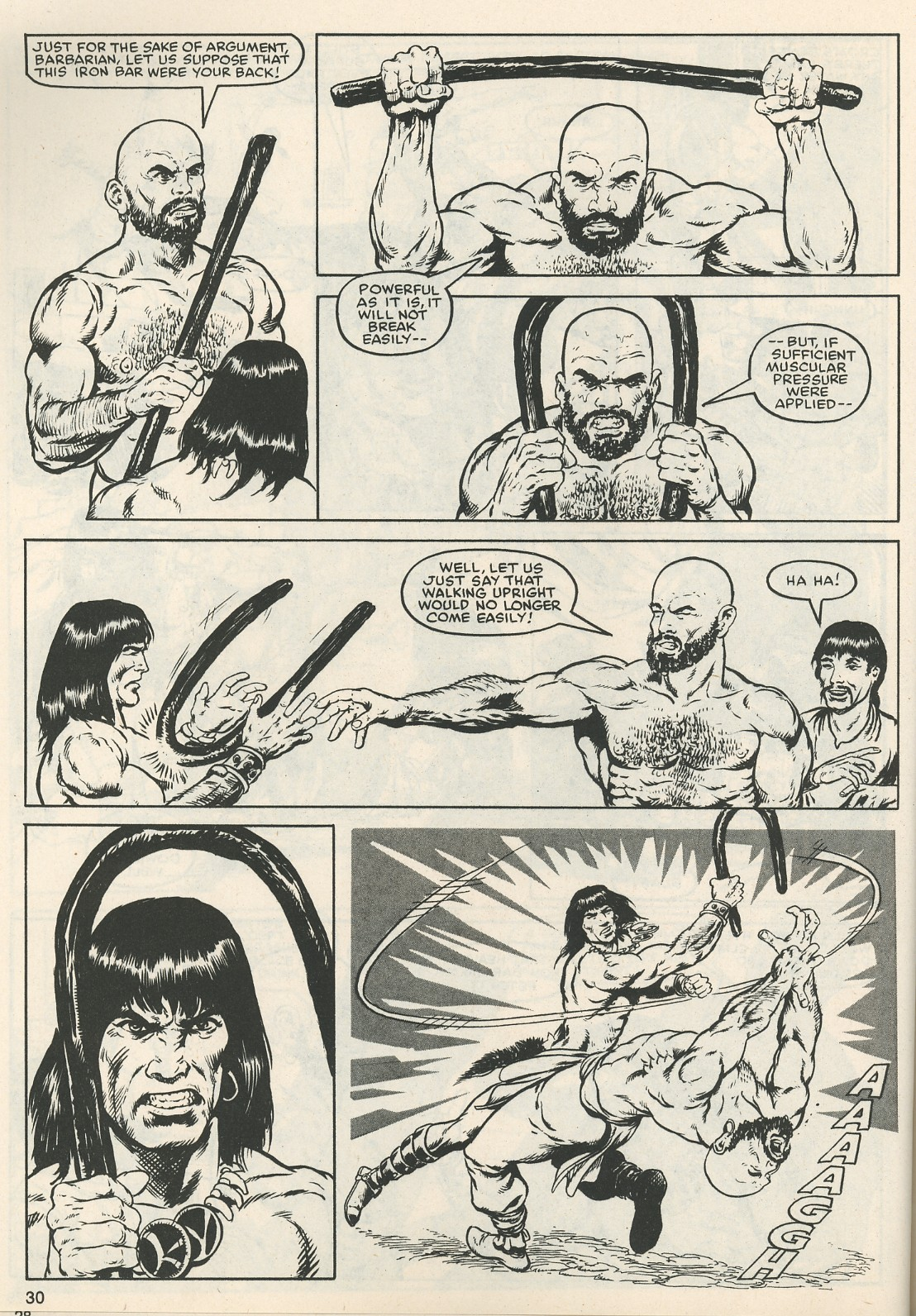 The Savage Sword Of Conan Issue #111 #112 - English 31