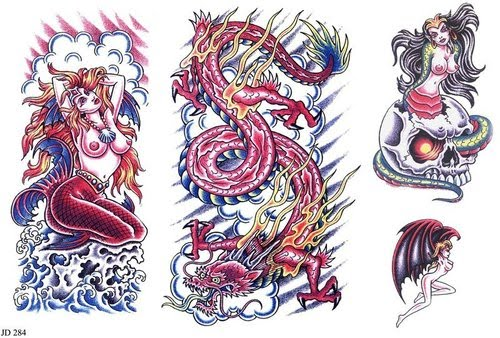 lion tattoo designs for men. japanese dragon tattoo designs