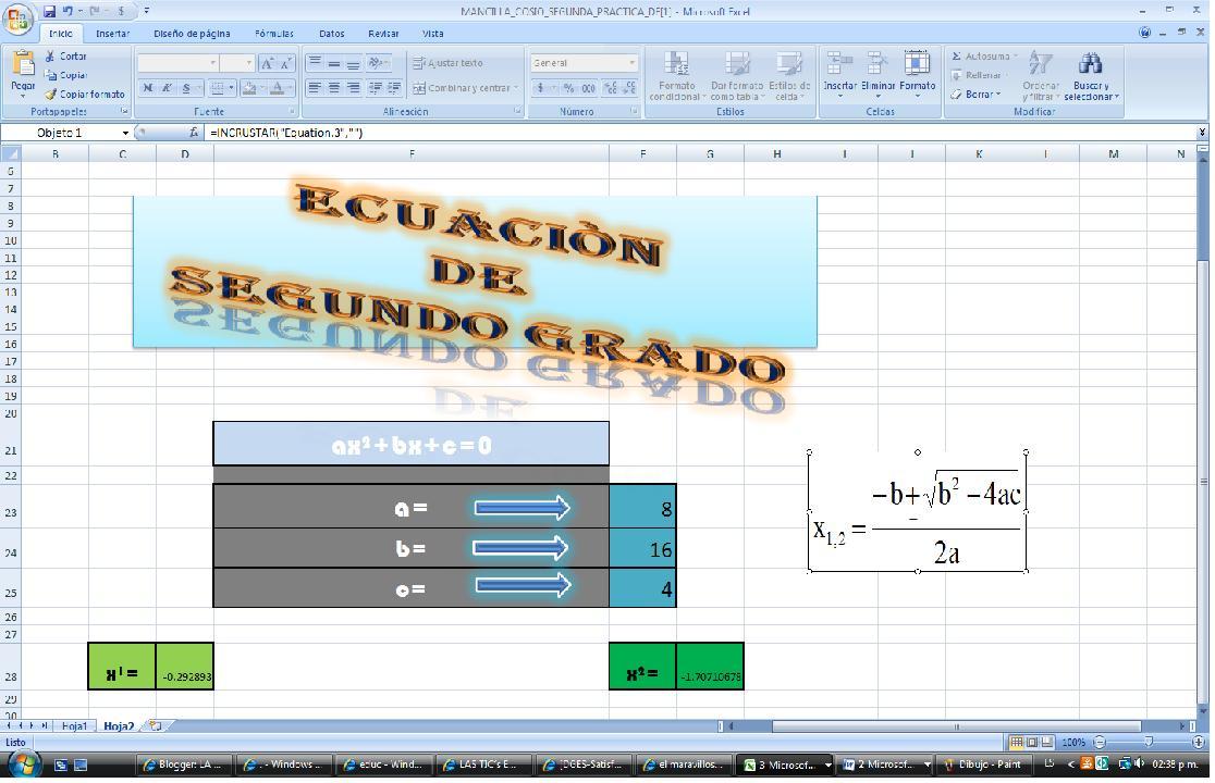 importancia de las ecuaciones: