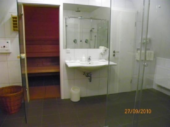 Sauna en el Hotel Weisses Ross