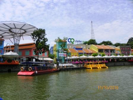 Crucero por el Rio Singapur