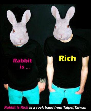 """ Rabbit is Rich   兔子很有錢 """