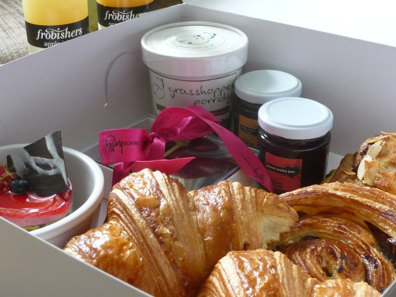 But As I Do Love Those Pastries Selected A Box With Couple Of Croissants Pain Au Raisin And An Almond Chocolate