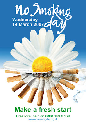 Poster for Non Smoking Day