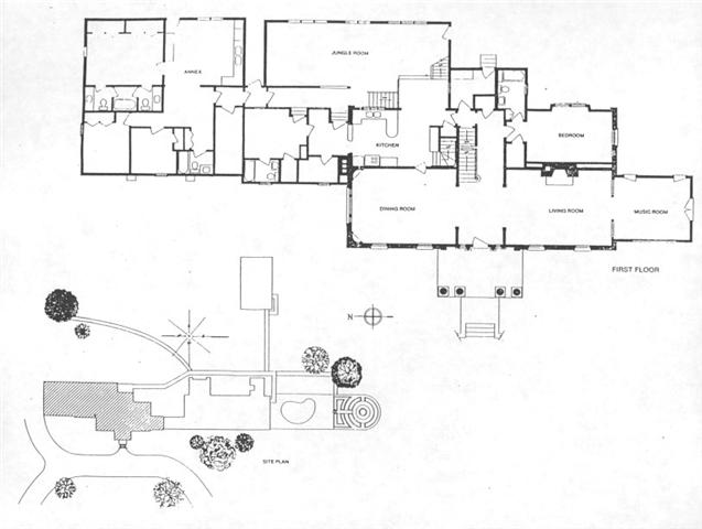 Taking care of business elvis blog graceland floor plan blue if anyone has larger versions of these please post a link malvernweather Image collections
