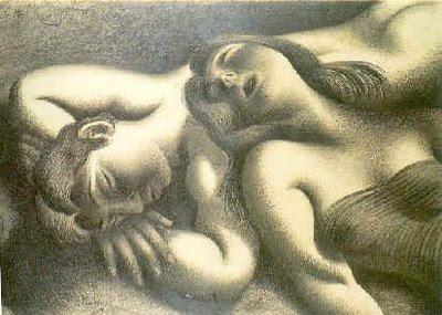 A sesta - 1939- Almada Negreiros